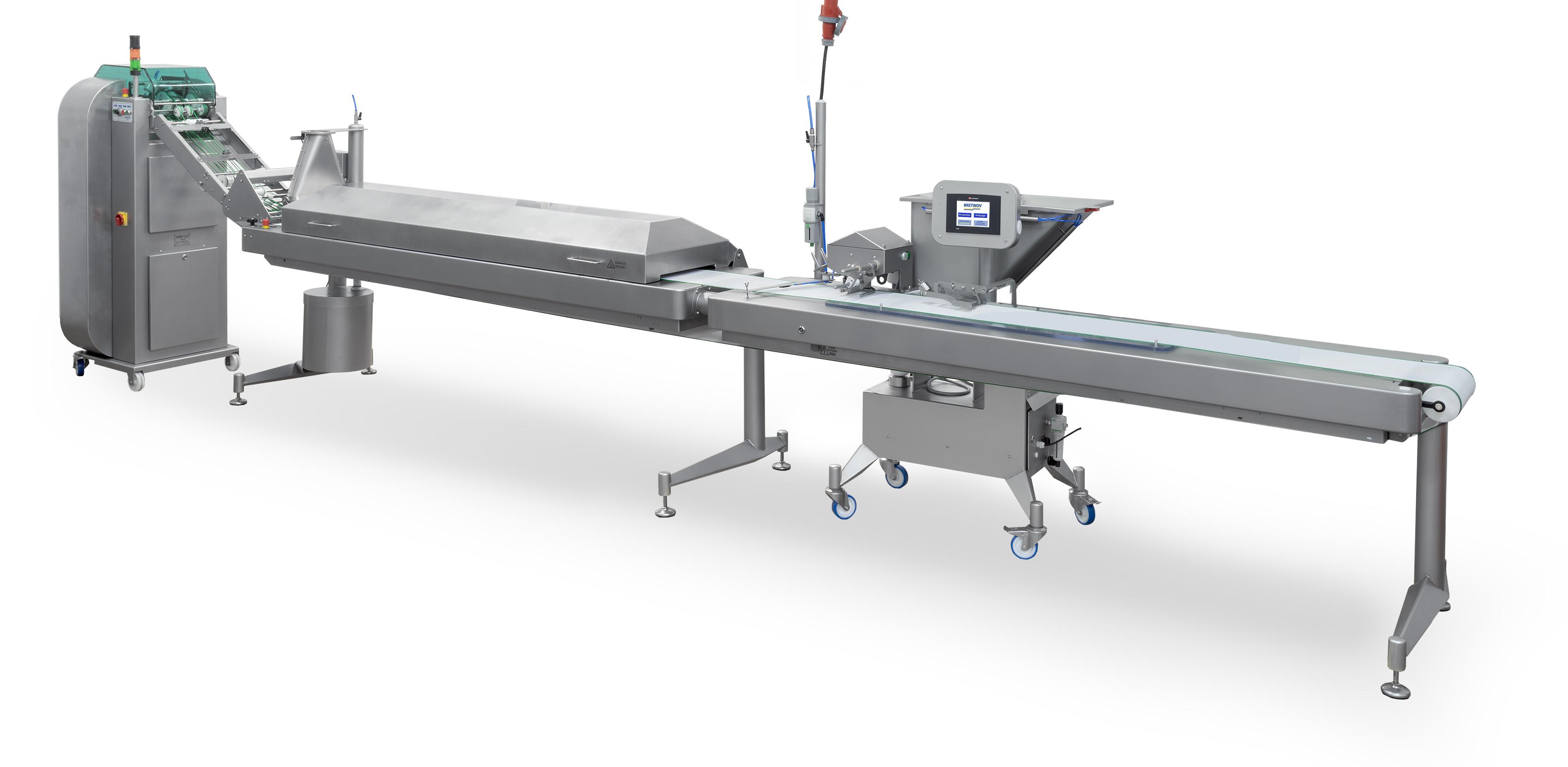 Ligne de production de Nems Semi-automatique